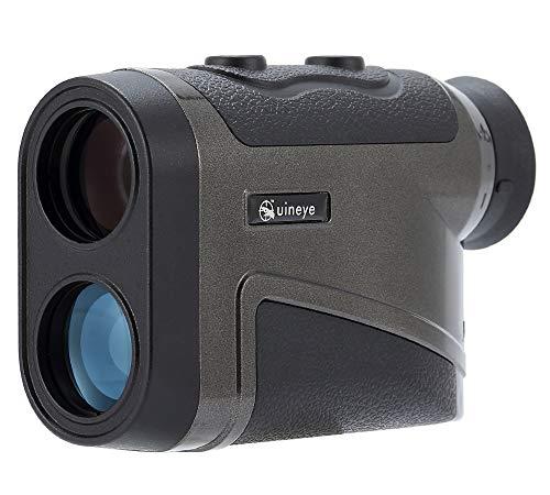 Golf telemetro–Range: 5–1.783,1m, telemetro Bluetooth compatibile con altezza, angolo, perfetto per la caccia di misurazione della distanza orizzontale, Golf, ingegneria studio (nero)
