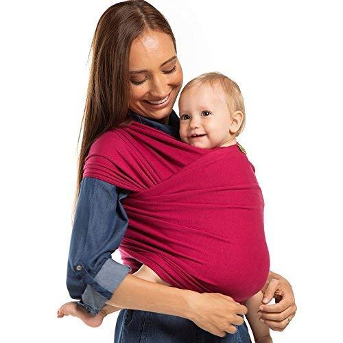 Boba Fascia elastica porta bambino (Sangria)