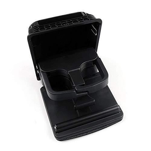Henreal Armlehne hinten Position, Mittelkonsole für Getränkehalter für VW Jetta Golf GTI MK6 MK5 EOS Rabbit