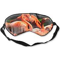 Tier-Schlafmaske mit Flamingo-Vögeln, für Damen, Herren, Mädchen, Erwachsene, Augenmaske, Augenbinde, für Reisen... preisvergleich bei billige-tabletten.eu