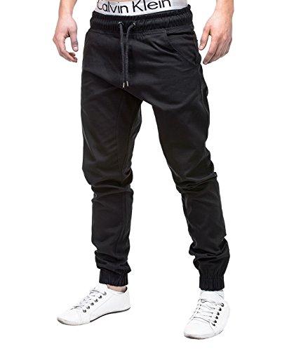 Betterstylz MasonBZ Chino-Jogger Pantalon Chino Èlégant Homme 20 couleurs (S-3XL)