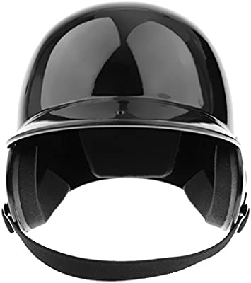 Casco De Bateo NOCSAE Cert. Favorable Béisbol / Softbol Casco De Doble Solapa - Negro