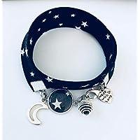 Pulsera Liberty, Pulsera de perfume luna, joya Liberty, idea de regalo, pulsera de perfume, joya, pulsera de estrella, regalos de joyería, regalo para mujer