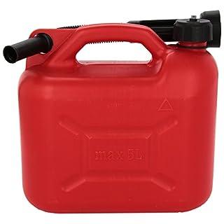Bottari 28061 28061: Zugelassener Benzinkanister mit Ausgießen, 5 Liter. Made in Italy.