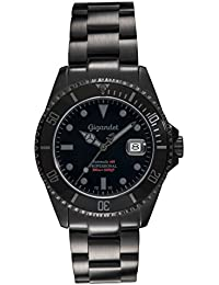 amazon co uk diving sports watch store watches gigandet sea ground automatic men s analogue diver watch black g2 010