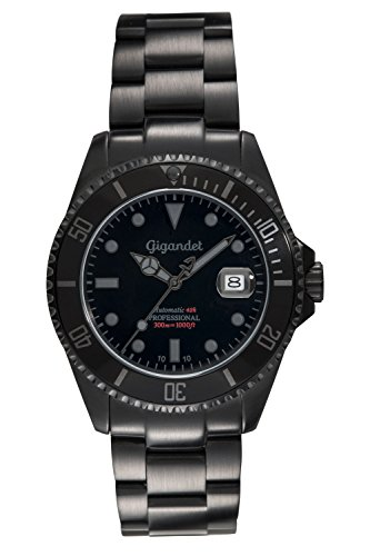 Gigandet Herren-Armbanduhr Automatik mit Edelstahlarmband G2-010