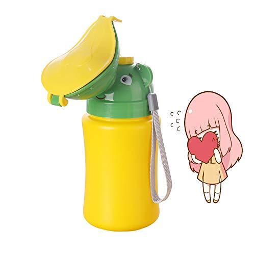 Minzione Dispositivo Portatile di Emergenza orinatoio vasino WC, per Bambini, a Tenuta Bambino Kid Potty Pee Training, utilizzato per Auto Viaggio Campeggio e attività all' Aperto, 500 ml (A)