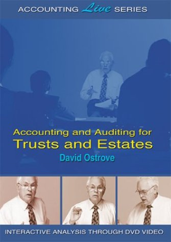 Preisvergleich Produktbild Accounting and Auditing for Trusts and Estates