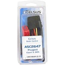 Celsus ASC2647 - Interfaz para controlar la radio desde el volante para Peugeot, Citroën y Fiat