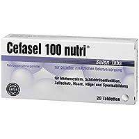 Cefasel 100 nutri Selen-Tabs, 20 St. Tabletten preisvergleich bei billige-tabletten.eu