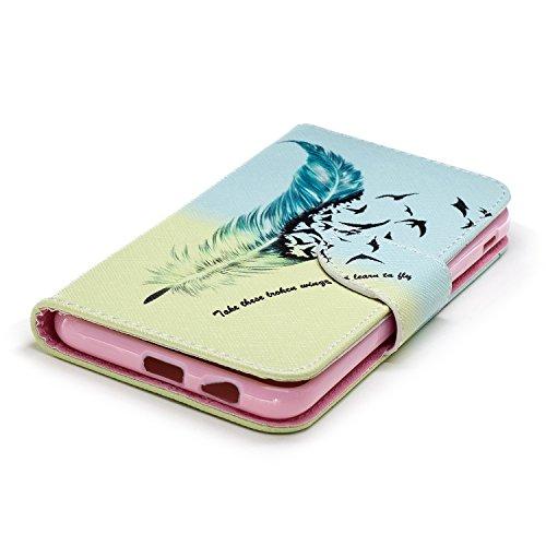 Funda   3D Relief Painting Flip Billetera Samsung Galaxy A6 Plus 2018  Patr  n 5