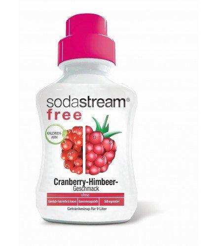 Sodastream Sirup FREE Cranberry-Himbeere 375ml