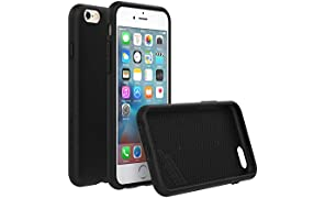RhinoShield Case FOR IPHONE 6s / IPHONE 6 [NOT Plus] [PlayProof] | Heavy Duty Shock Absorbent [High Durability] Scratch Resistant. Ultra Thin. 11ft Drop Protection Rugged Cover - Black