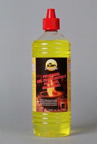 1 Liter Firegel - Fuel-Gel - Burning-Gel / BBT-10001300 / Accessory for Fire-Gel and Bio-Ethanol Fireplaces Chimneys