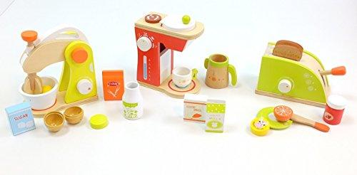 Unbekannt Haushaltsset: Toaster + Mixer + Kaffeemaschine / mit verschiedenen Zubehörartikeln /...