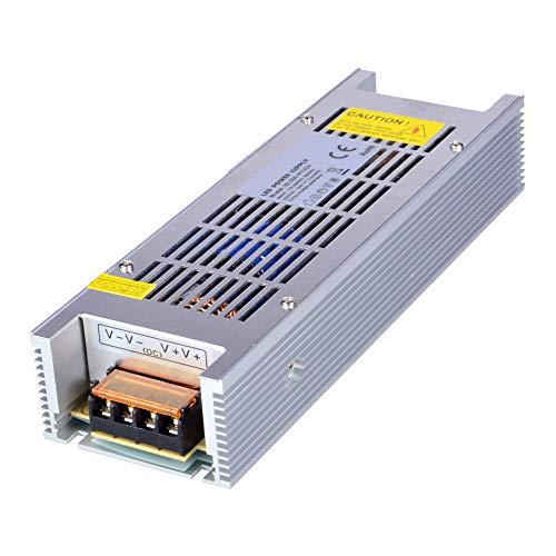 Dapenk Indoor Case LED Alimentatore LED 24V 300W PSU LED Trasformatore Alimentatore per LED Lampadine Strip Light (NL300-H1V24)