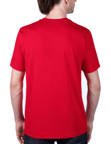 anvil Herren Sustainable T-Shirt / 450 Rot (ECR-Eco Red)