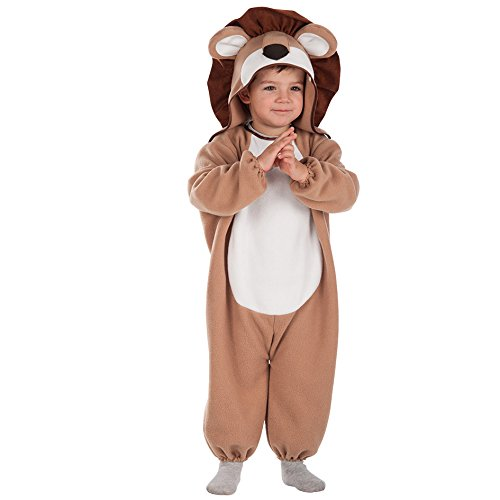 Carnival Toys 63041-León, disfraz para bebé con capucha, 1-2años
