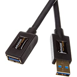 AmazonBasics USB 3.0 A-Male to A-Female Extension Cable 3 m / 9.8 Feet