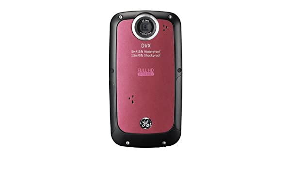 ge dvx waterproof shockproof 1080p pocket video camera amazon in rh amazon in Panasonic DVX Camcorder GE DVX 1080P