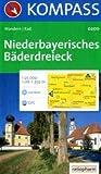 Niederbayerisches Bäderdreieck: Wander- und Radtourenkarte. Bad Birnbach, Bad Füssing, Bad Griesbach. GPS-genau. 1:25.000