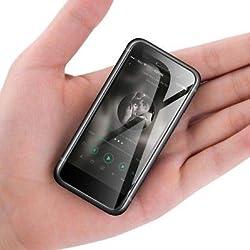 JUNERAIN Téléphone Melrose S9 Plus 4G Smartphone Mini 2,45 Pouces 2 Go + 8 Go Android 7.0 (Noir)