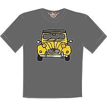 retro t-shirt camiseta Citroen 2 cv