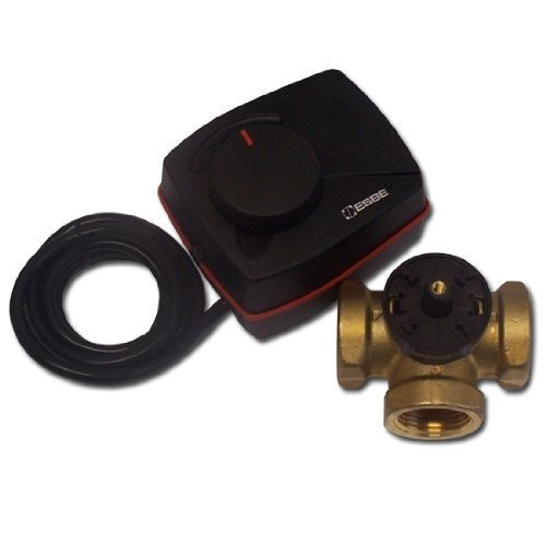 Preisvergleich Produktbild ESBE VRG131 + ARA661 Set 3 Wege Heizungs-Mischer + Stellmotor 1 IG