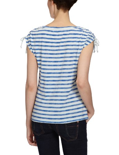 Only - Maglietta a righe, donna Multicolore (Mehrfarbig (ICE FLOW STRIPES BLUE))