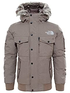 The North Face Waterproof Gotham Men's Outdoor Hooded Jacket available in Falcon Brown Dark Heather - Small (B073ZHLP75) | Amazon price tracker / tracking, Amazon price history charts, Amazon price watches, Amazon price drop alerts