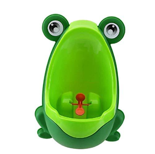 Lumanuby orinatoio, baby per bambini rana vasino per bambino, WC orinatoio Boy stand-up pee Trainer