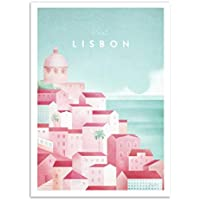 Wall Editions Art-Poster - Visit Lisbon - Henry Rivers