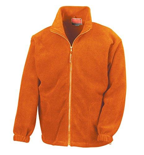 RT36A Active Fleece Jacket Orange