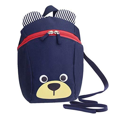 MiniGreen Anti Verlorene Tasche Niedliche Bär-Tier-Kind-Rucksack Cartoon