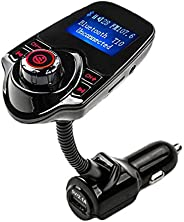 T10 Bluetooth Handsfree FM Transmitter Car Kit MP3 Music Player