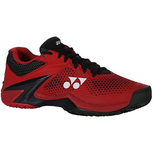 YONEX Men Eclipsion 2 Tennis Shoes all Court Shoe Red - Black 8,5