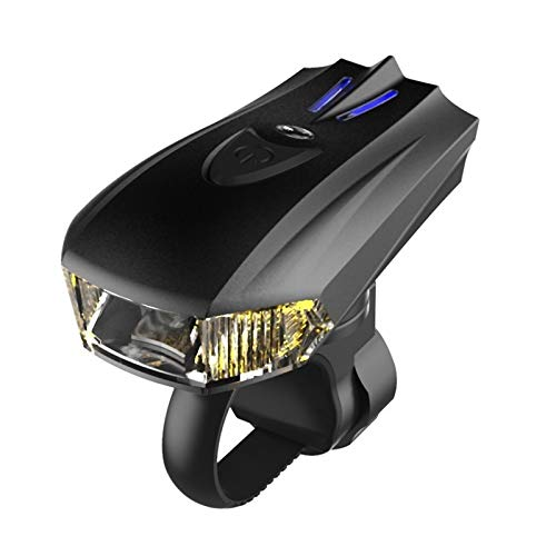 XiangY LED Fahrradlicht,Fahrradbeleuchtung Induktion Vibration USB Charging Night Riding Wiederaufladbare Fahrrad Licht Scheinwerfer Ausrüstung Lauflichter