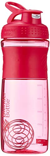 BlenderBottle Sportmixer Tritan Shaker | Protein Shaker | Wasserflasche | Diät shaker Pink (28oz / 820ml)
