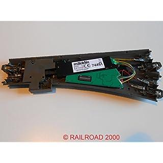 Märklin 24611 - gerade C-Gleis Weiche links incl. Decoder + Antrieb