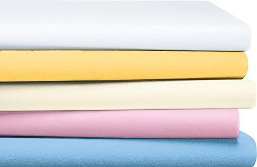 Erwin Müller Baby-Spannbettlaken Amberg Single-Jersey weiß Größe 40x70 cm oval