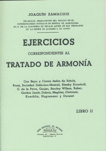 ZAMACOIS - Ejercicios correspondientes al tratado de armonia Vol.2
