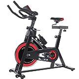 ISE Cardio Vélo Biking Vélo d'Appartement Vélo Spinning avec Programme et l'Ecran LCD, Cardiofréquencemètre, avec...