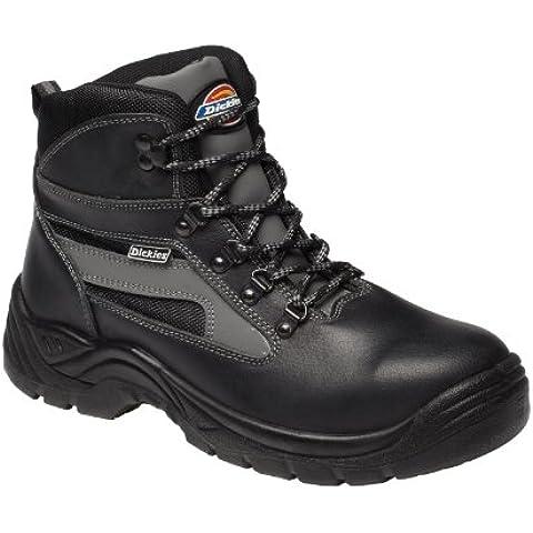 Dickies Severn DICSEVERN10B - Zapatos de protección de cuero para unisex