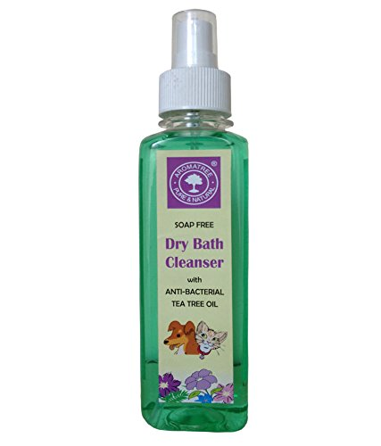AROMATREE Dry Bath Cleanser with Anti-Bacterial Tea Tree Oil (240 ml)