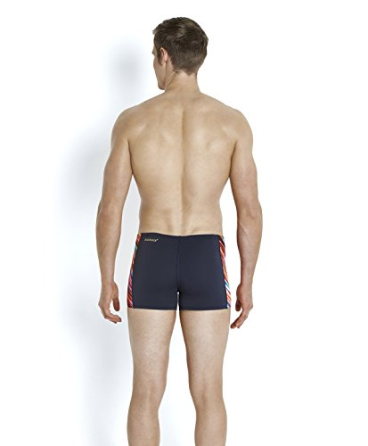 Speedo Turbomotion Short de Bain Homme Gris