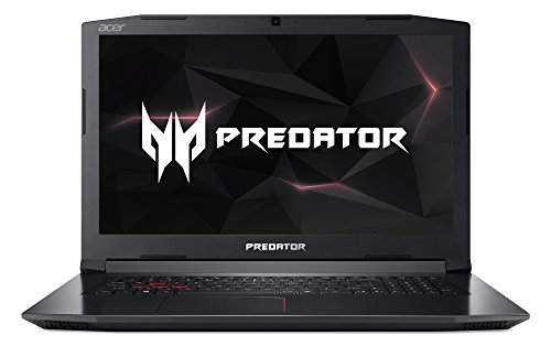 Acer Predator Helios 300 PH317-51-75GZ 43,94 cm (17,3 Zoll Full-HD IPS matt) Gaming-Notebook (Intel Core i7-7700HQ, 8GB RAM, 1TB HDD, GeForce GTX 1060 (6GB VRAM), Win 10) schwarz