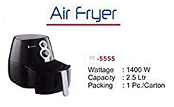 FARM HOT Air Fryer 1400 Watts, 2.5 Ltr Black