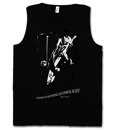 Jeffrey LEE Pierce Retro Herren Männer Tank Top Training Shirt - The Memorial Gun Classic Rock Club Miami Sizes S - 5XL