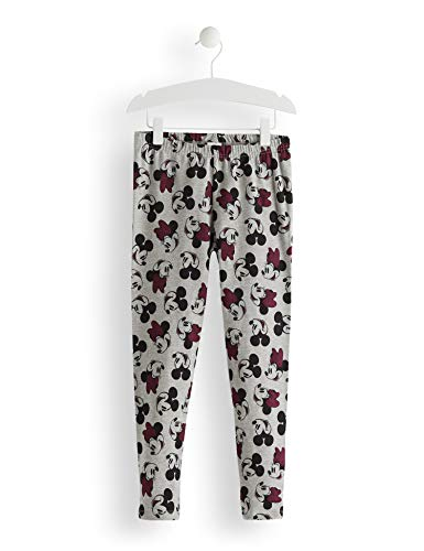 Red wagon minnie mouse grey all over print leggings bambina, grigio aop, 128 (taglia produttore: 8)