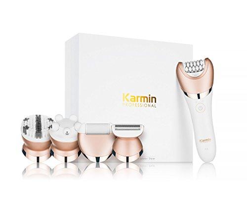 Karmin ig114505–Epilatore senza fili, uso a secco/humedo